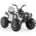 Детский электроквадроцикл на резиновых колесах