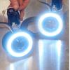 Установка дополнительного света на электросамокат