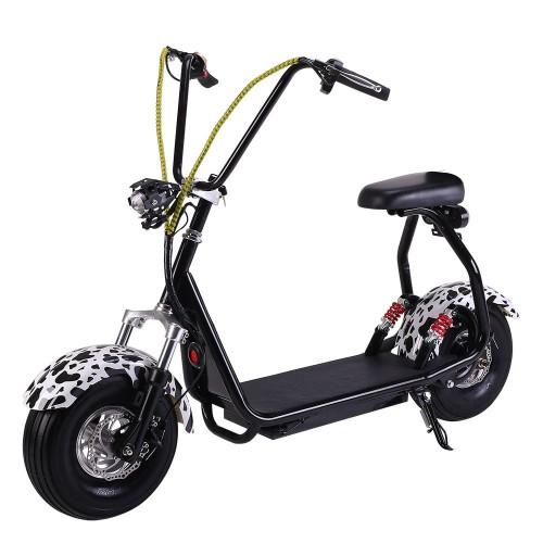 Электросамокат EL-Sport Mini Citycoco 800W 48V/12Ah с двойным сиденьем фото