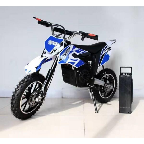 Детский электромотобайк GreenCamel Dirt Bike DB400 1200W фото