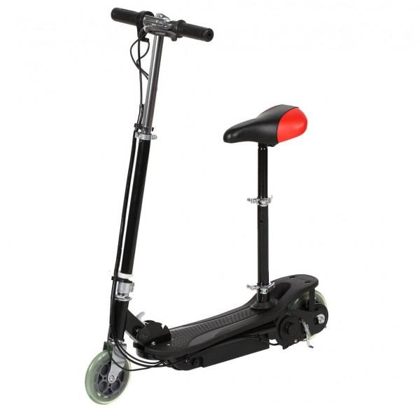 Электросамокат Е-Scooter CD-03s 120W (с сиденьем) фото