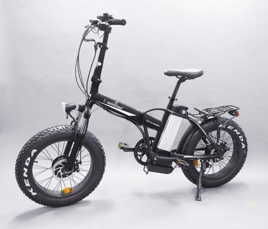 Электровелосипед Е-мотионс ФАТ 20&qуот; Доубле 2 В2 (36В/18Аh) фото