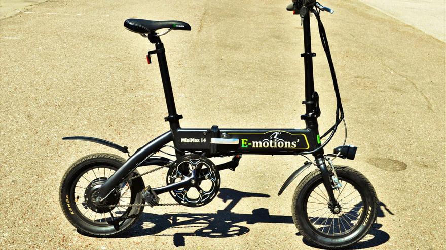 Электровелосипед Е-мотионс МиниМах фото