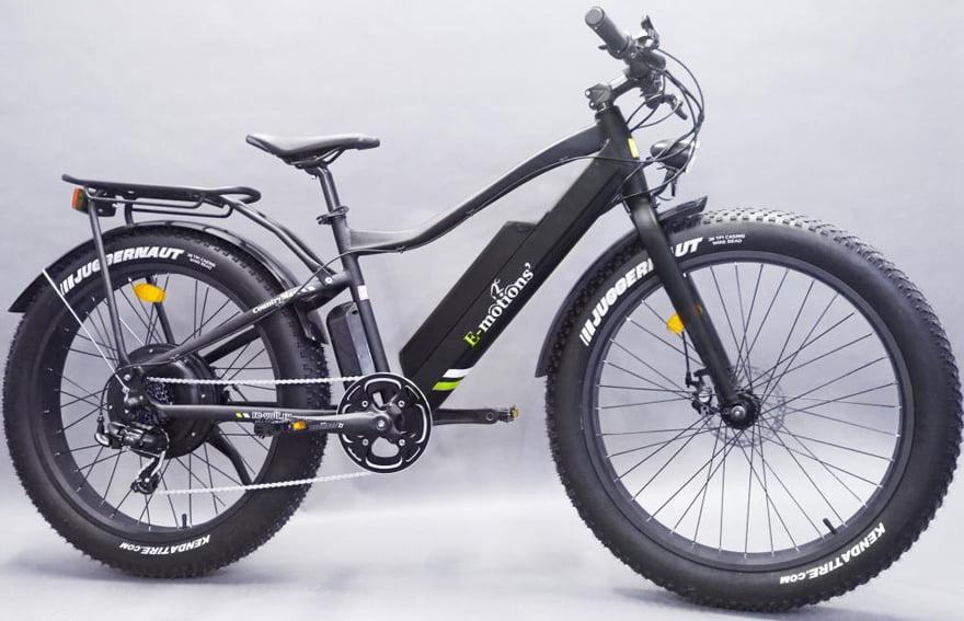 Электровелосипед Е-мотионс ФАТ ЦоунтрыМан фото