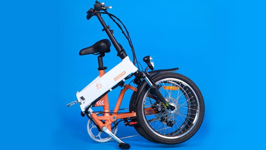 Электровелосипед Елбике Гангстар вип фото
