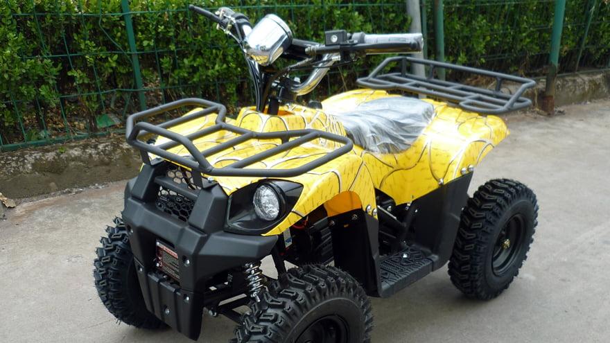 Детский электрический квадроцикл Ел-Спорт Цhилдрен АТВ 1000W 36В/12Аh фото