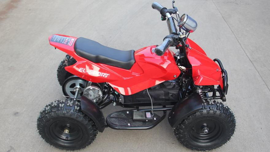 Детский квадроцикл на аккумуляторе Ел-Спорт Кид АТВ 800W 36В/12Аh  фото