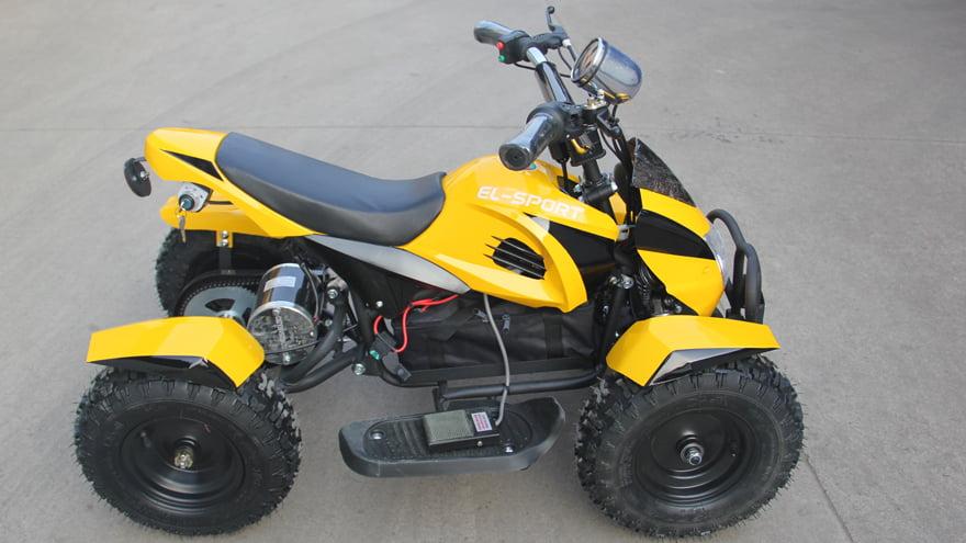 Детский электроквадроцикл Ел-Спорт Йуниор АТВ 500W 36В/12Аh  фото