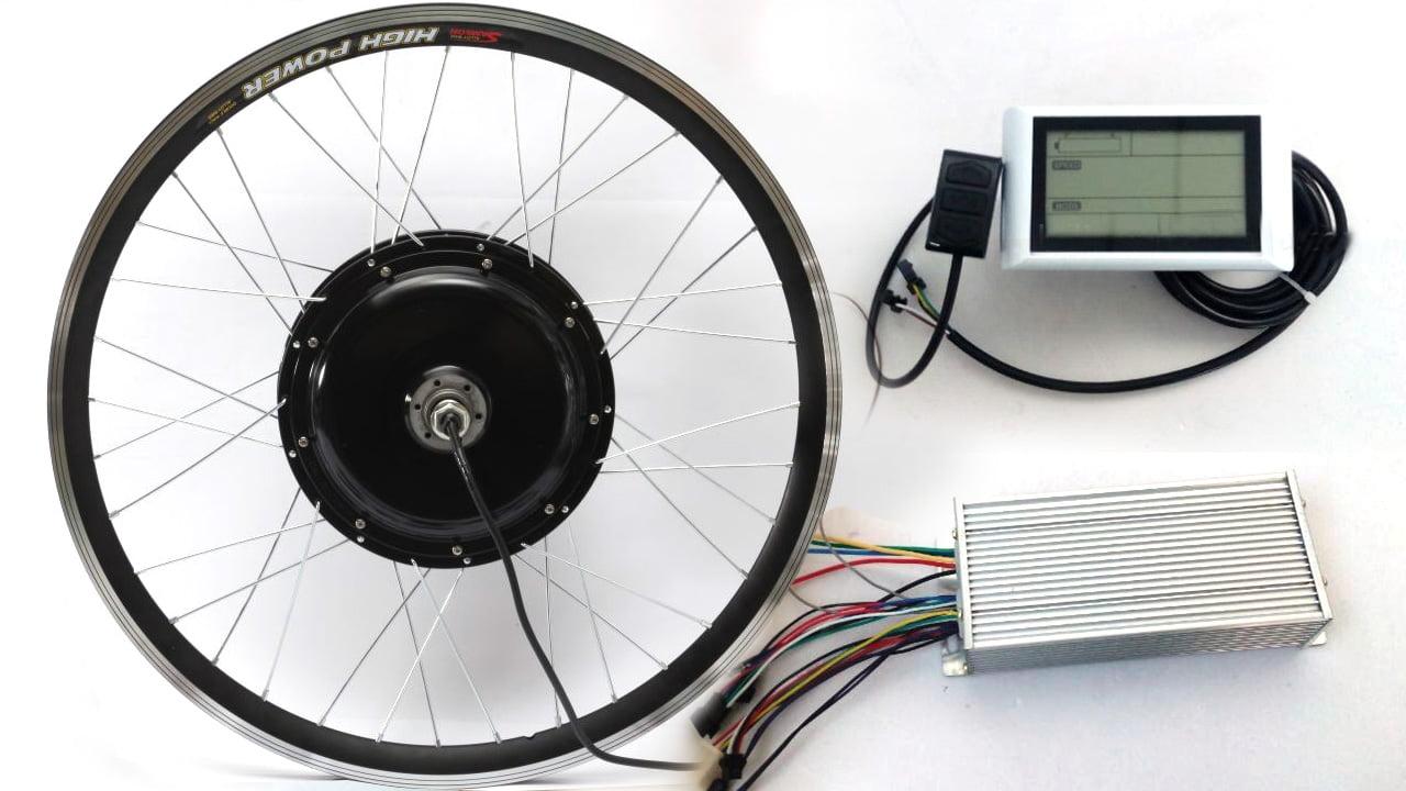 Мотор-колесо Леили 1500W-3000w фото