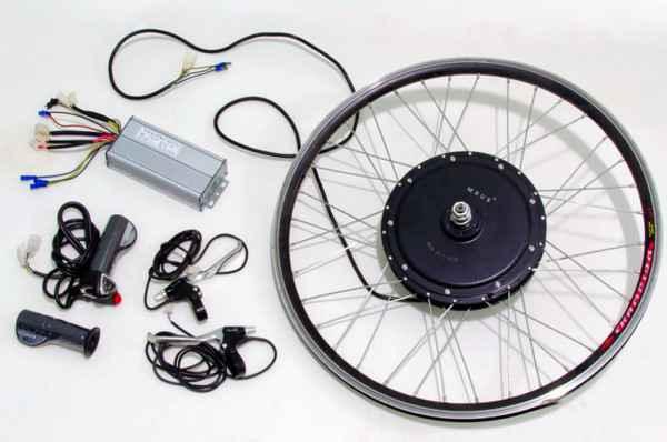 Велосипед с мотор колесом шкондина купить