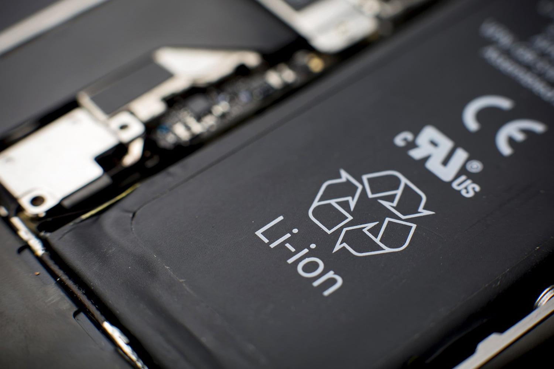 Li-ion батарея плоского типа фото