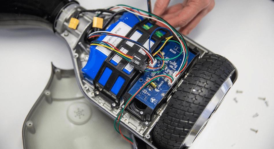 Разобранный гироскутер фото